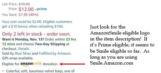 Amazonsmileeligible